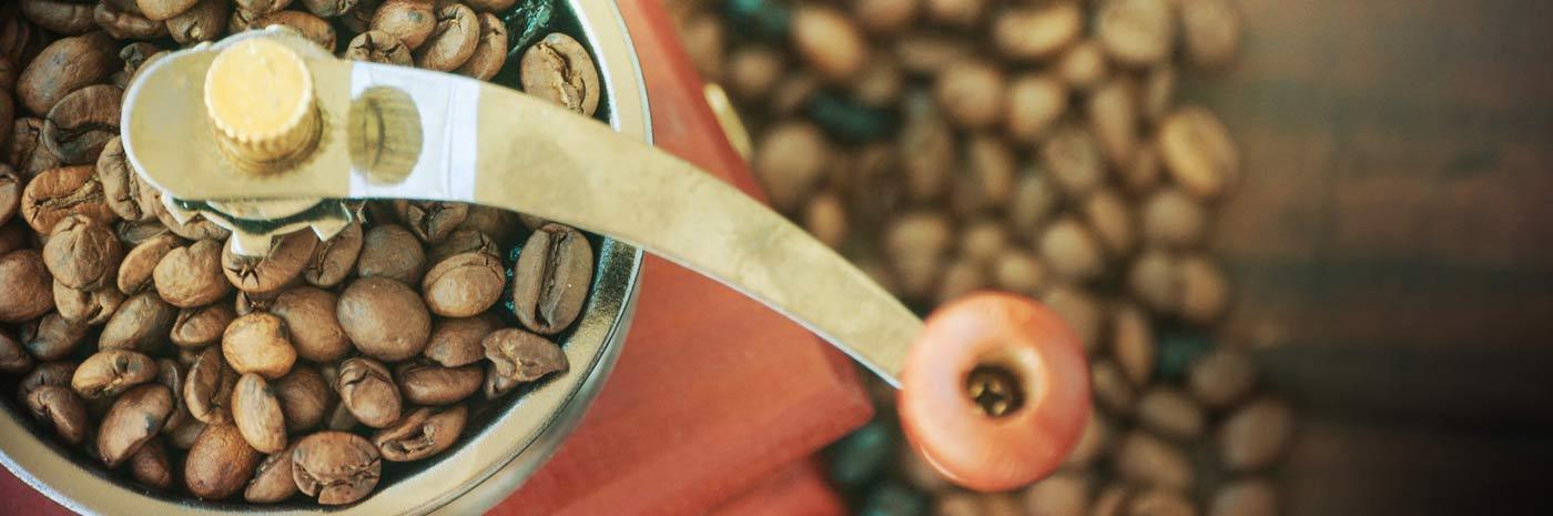 Les différentes moutures de café