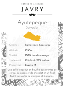 Ayutepeque - Ilamatepec, Salvador - 250g - Grains