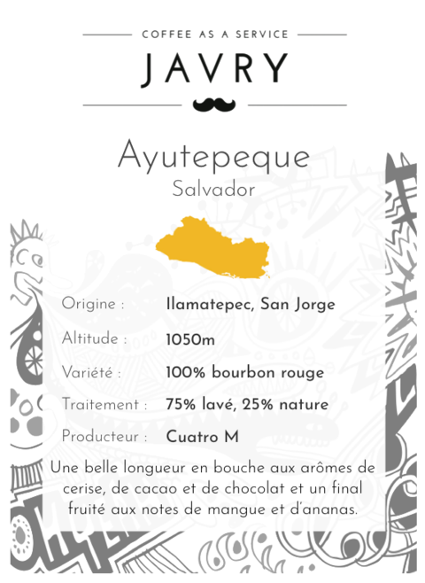 Ayutepeque - Ilamatepec, Salvador - 500g - Grains