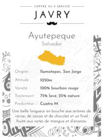 Ayutepeque - Ilamatepec, Salvador - 250g - Moulu
