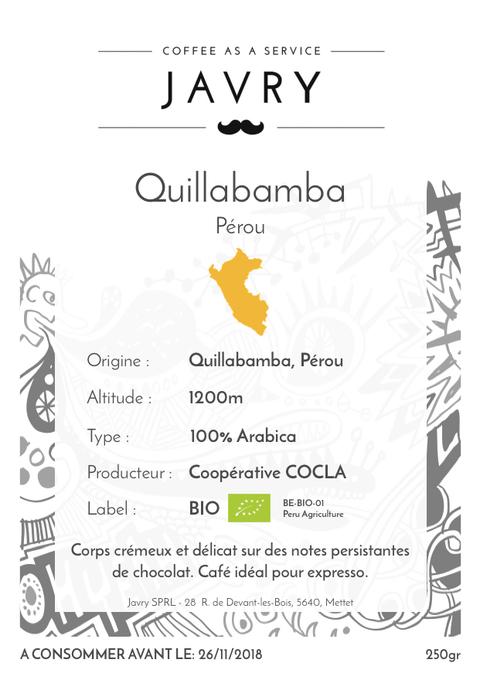 BIO - Cocla - Quillabamba, Pérou - 250g - Grains