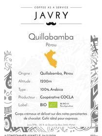 BIO - Cocla - Quillabamba, Pérou - 250g - Moulu
