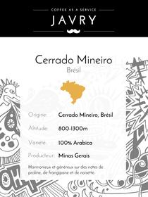 Cerrado Mineiro - Minas Gerais, Brésil - 1kg - Moulu