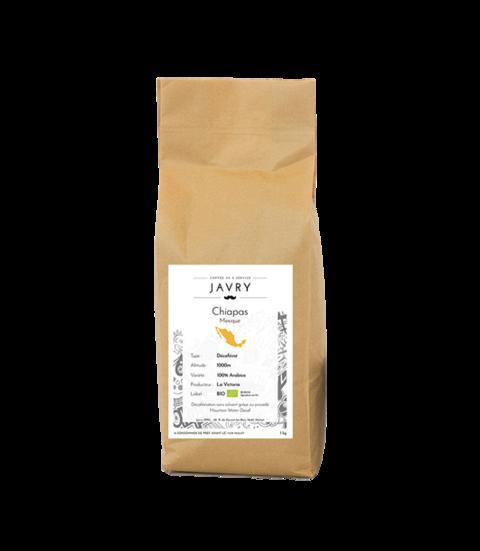 BIO - DECAF - Chiapas, Mexique - 1kg - Grains