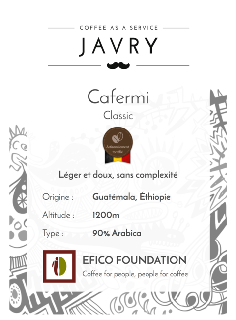 Cafermi - 500g - Grains