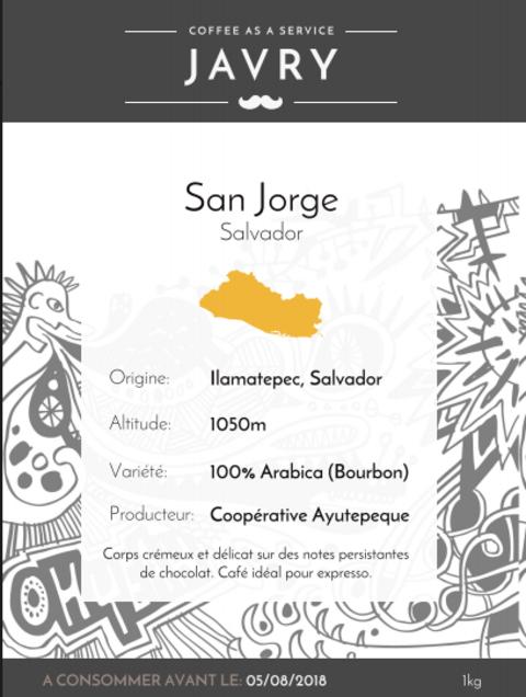 Ilamatepec - San Jorge, Salvador - 1kg - Moulu