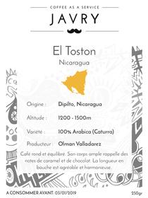 El Toston - Dipilto, Nicaragua - 250g - Grains