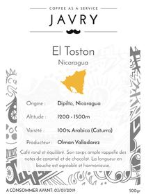 El Toston - Dipilto, Nicaragua - 500g - Moulu