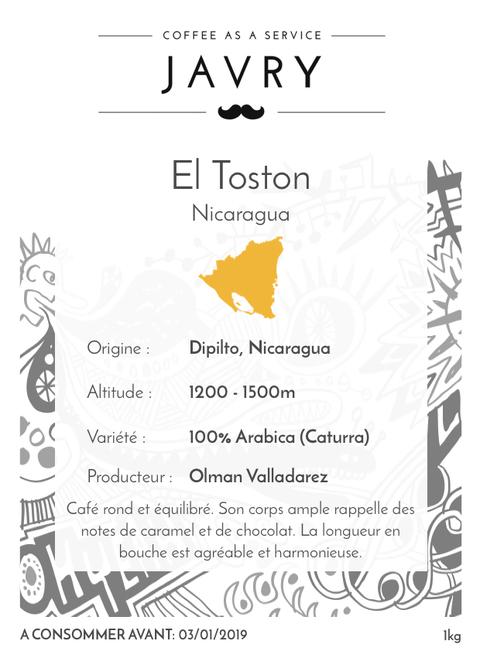 El Toston - Dipilto, Nicaragua - 1kg - Moulu