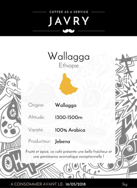 Ethiopie - Wallaga - 1kg - Grains