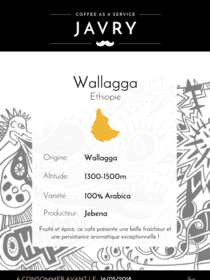 Ethiopie - Wallaga - 1kg - Grains
