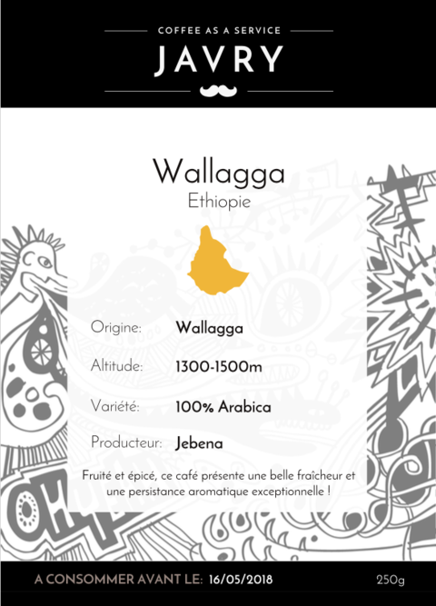 Ethiopie - Wallaga - 250g - Moulu