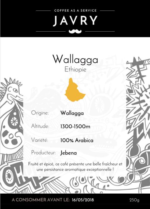 Ethiopie - Wallaga - 250g - Moulu