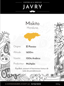 Miskito - 250g - Grains