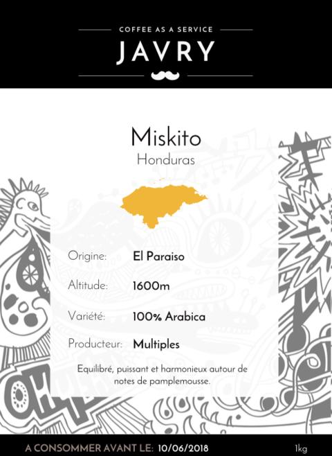 Miskito - 1kg - Moulu