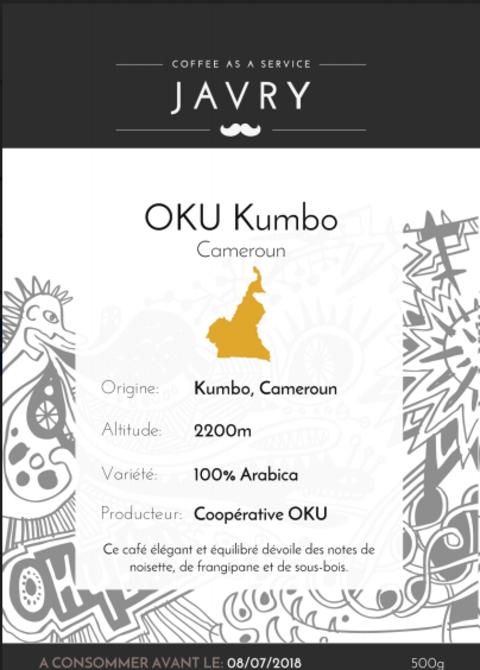 OKU Kumbo, Cameroun - 500g - Grains