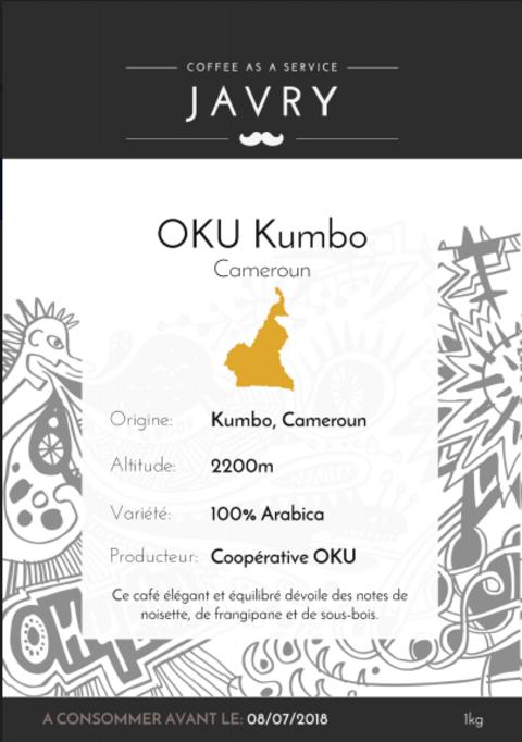 OKU Kumbo, Cameroun - 1kg - Grains