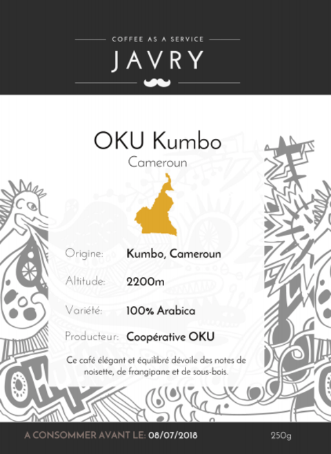 OKU Kumbo, Cameroun - 250g - Moulu
