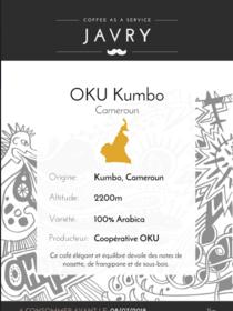 OKU Kumbo, Cameroun - 1kg - Moulu