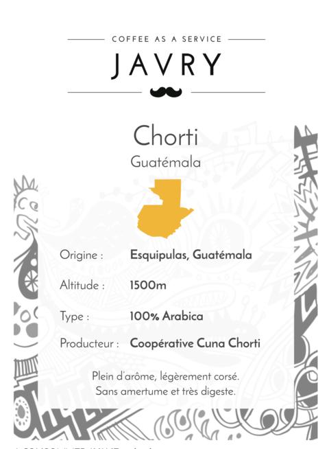 Chorti - Guatémala - 500g - Grains