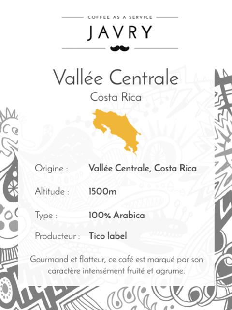 Tico - Vallée Centrale, Costa Rica - 250g - Grains