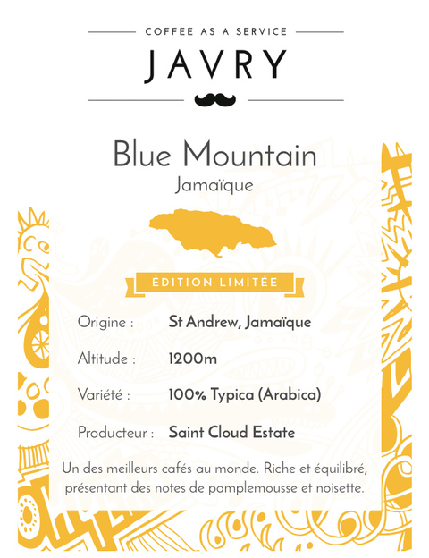 Blue Mountain - 500g - Moulu