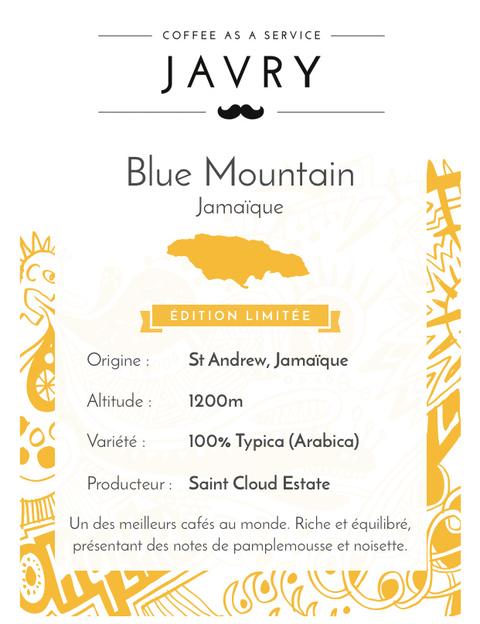Blue Mountain - 500g - Moulu