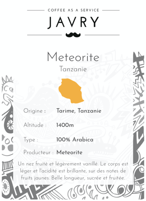 Météorite - Tarime, Mara, Tanzanie - 500g - Moulu