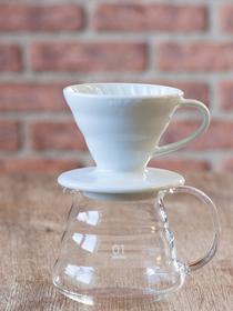 Kit Hario V60 - Céramique & Verre 1 à 2 tasses