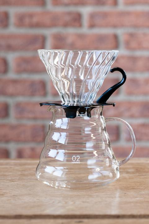 Kit Hario V60 en verre - 1 à 4 tasses