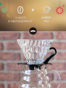 Javry 3 mois + Hario V60 en verre