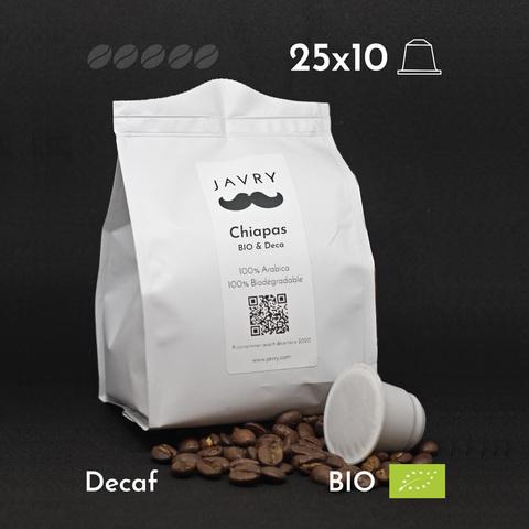 BIO - Déca - Chiapas - 250 capsules biodégradables