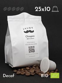 BIO - Cafeïnevrij - Chiapas - 250 bio-afbreekbare capsules