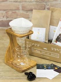 Coffret Prestige - Kit V60 et support en bois d'olivier
