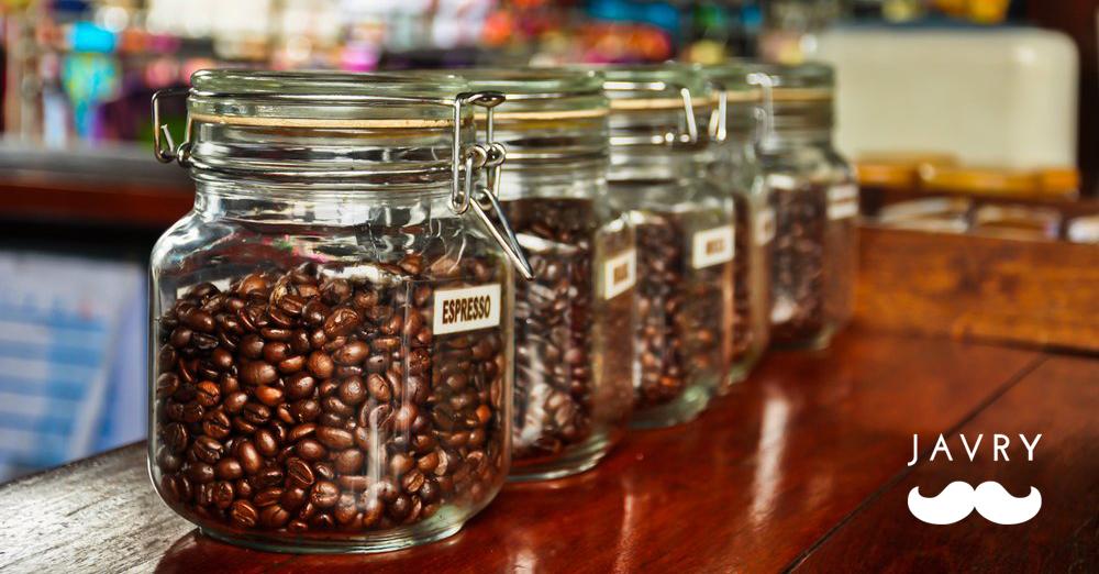 Stocker et conserver grains de café