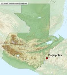 carte Esquipulas Guatémala