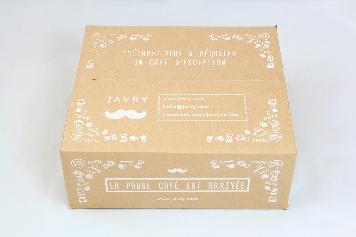 Coffret cadeau Pause Café (moulu)