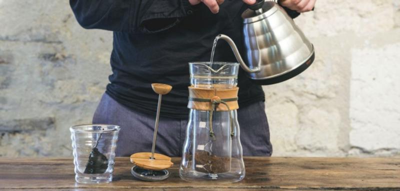 tutoriel cafetière à piston
