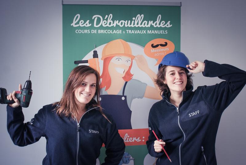 Stéphanie Roland et Lucie Thieule : Les Débrouillardes