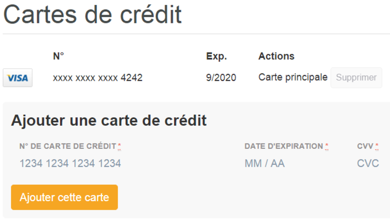 comment changer la carte de credit twitch amazon