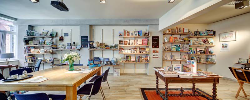 café littéraire toutes directions à Liège