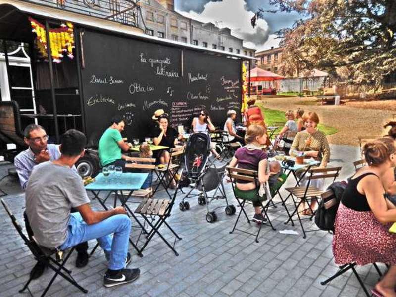 café la guinguette littéraire à Mons