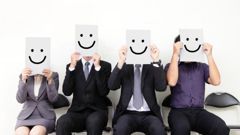 employés heureux