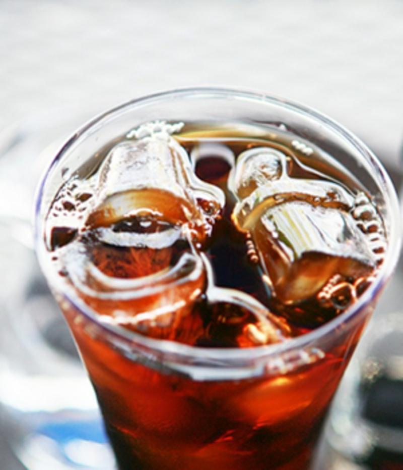 Eenvoudige iced coffee