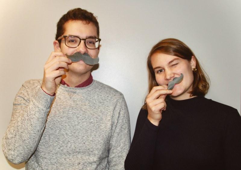 Mathilde et Damien awesome interns