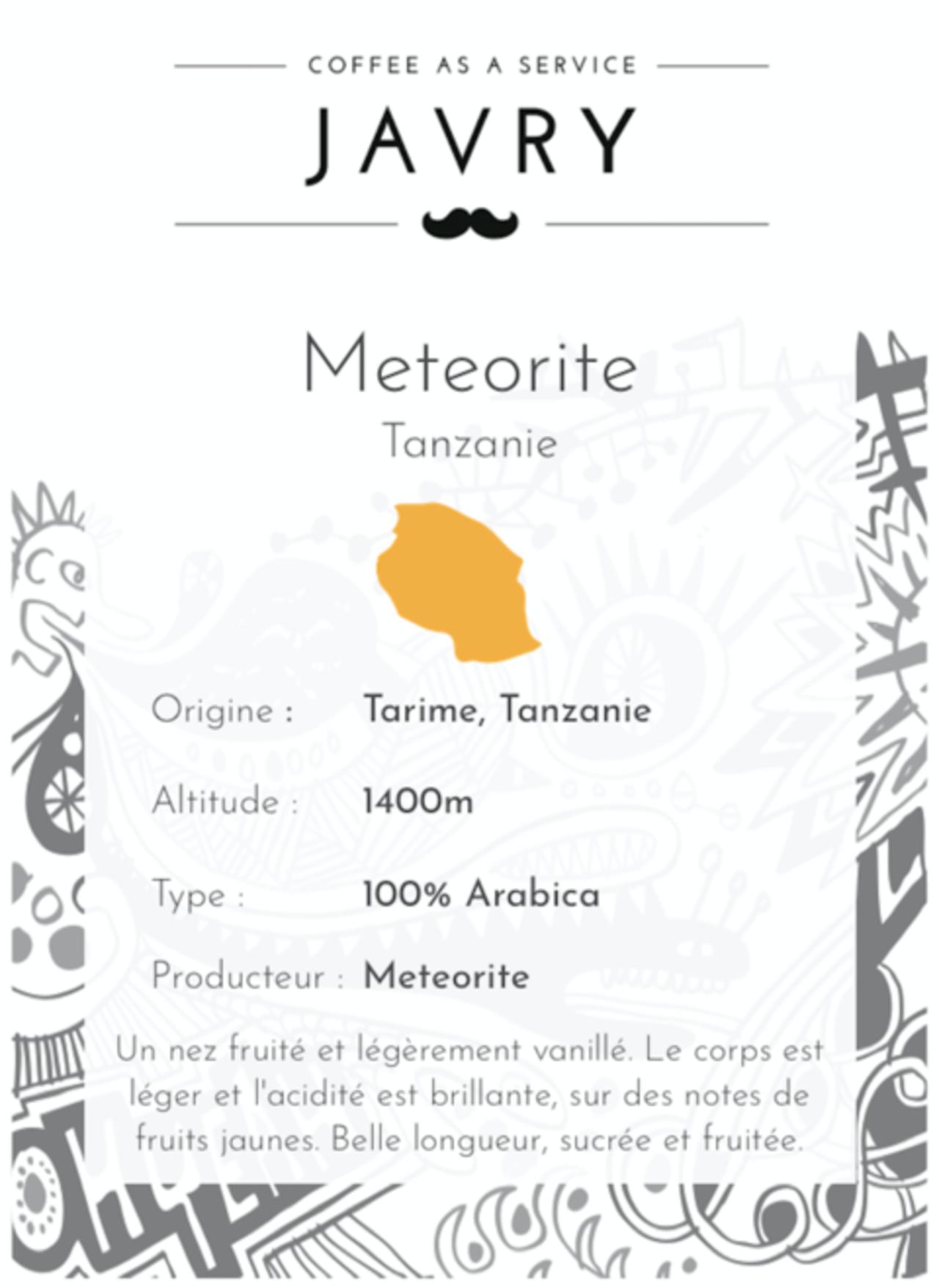 Météorite - Tarime, Mara, Tanzanie - 250g - Moulu