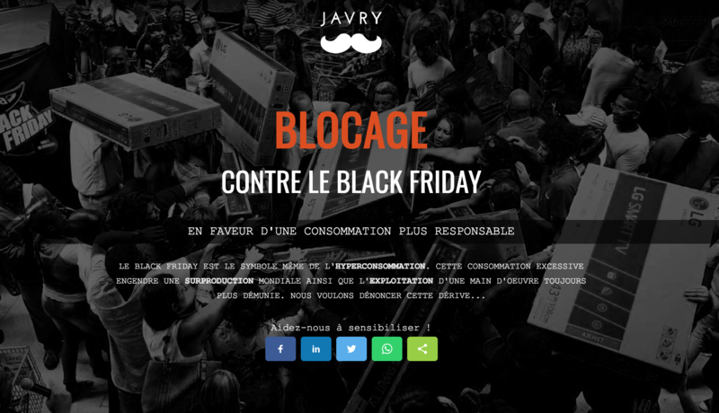 javry boycott le black friday