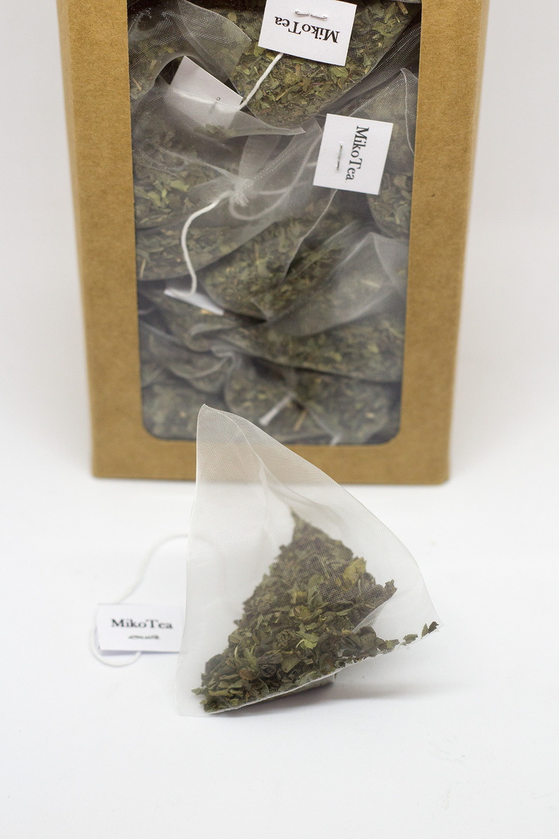 Thé vert menthe poivrée - 50 sachets 2