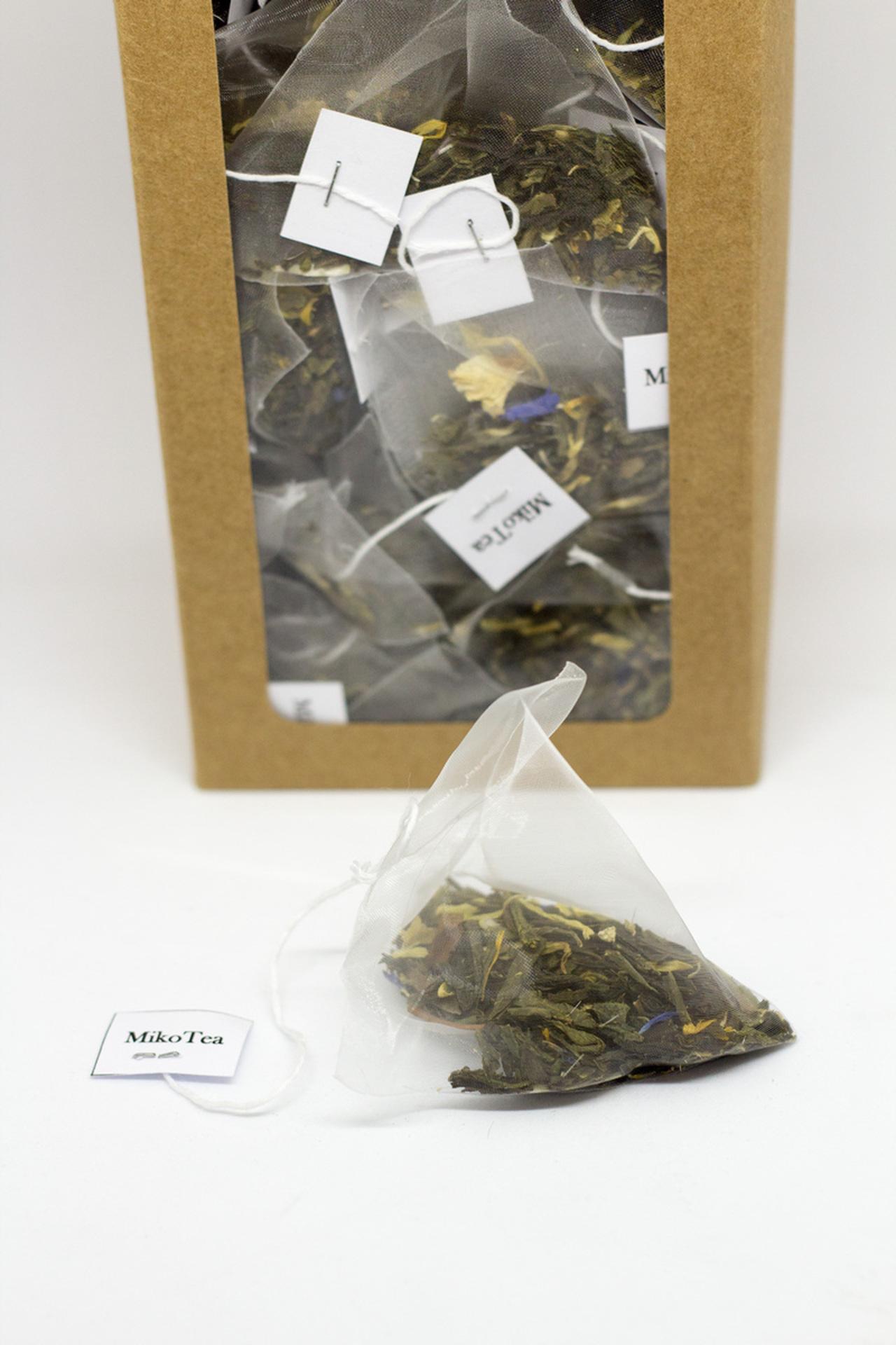 Thé vert Lady Grey - 50 pièces