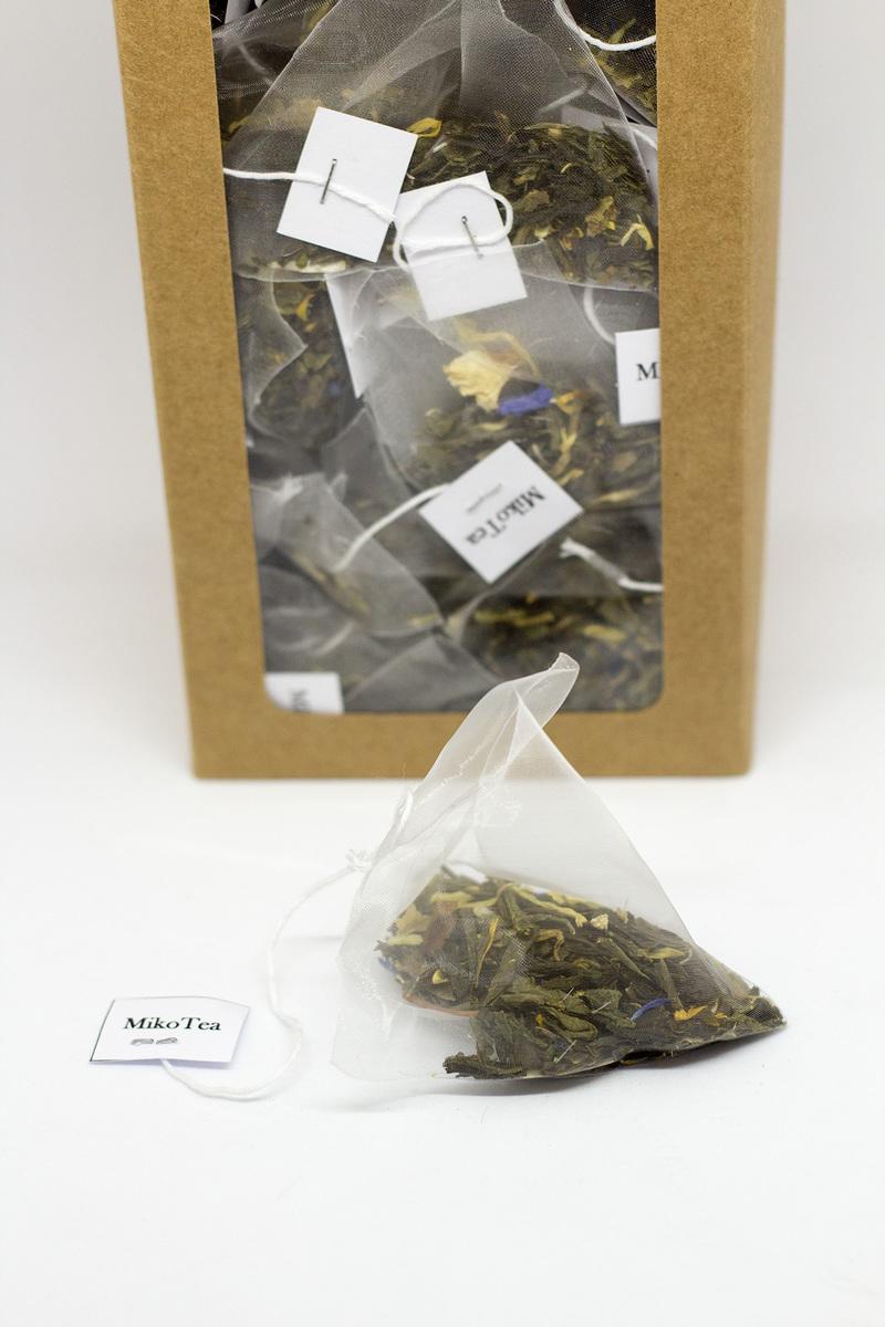 Thé vert Lady Grey - 50 pièces 2